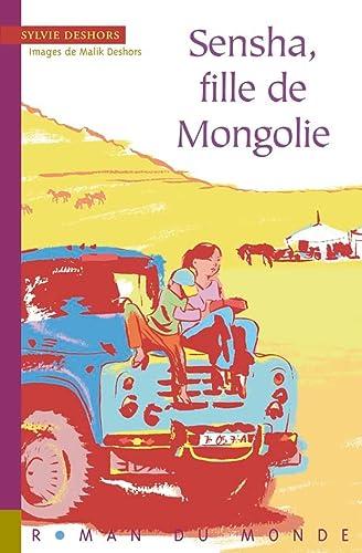 9782355042171: sensha, fille de mongolie