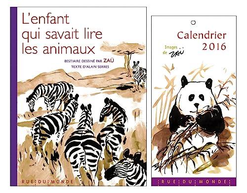 9782355043949: L'enfant qui savait lire les animaux : Avec calendrier illustr� 2016