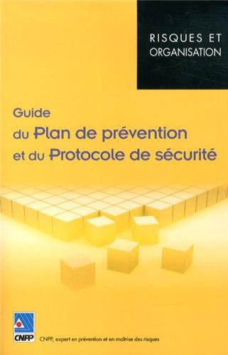 9782355050947: Guide du plan de prévention et du protocole de sécurité