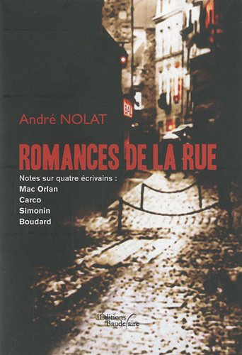 9782355082870: Romances de la rue