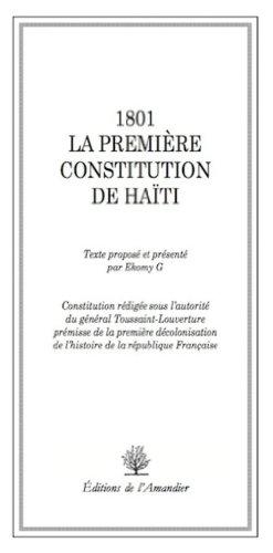 9782355162152: 1801. la Premiere Constitution de Haiti