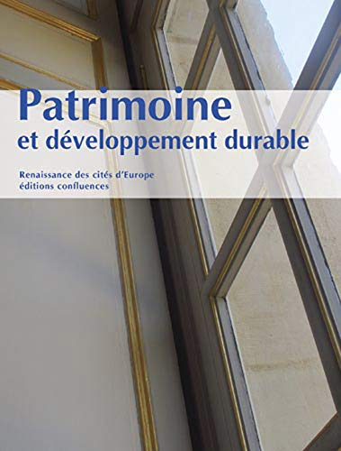 9782355271076: PATRIMOINE ET DEVELOPPEMENT DURABLE