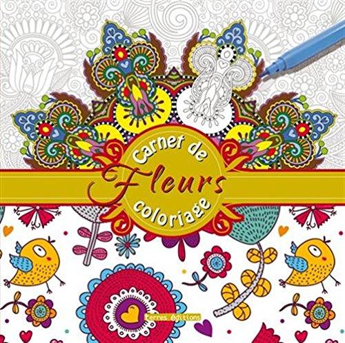 9782355302633: Carnet de coloriage fleurs