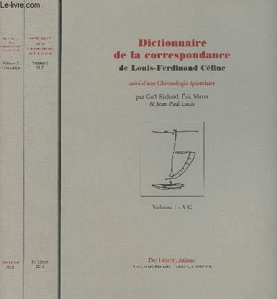 9782355480676: Richard Gael, Mazet Eric et Louis Jean-Paul, Dictionnaire de la Correspondance de Celine