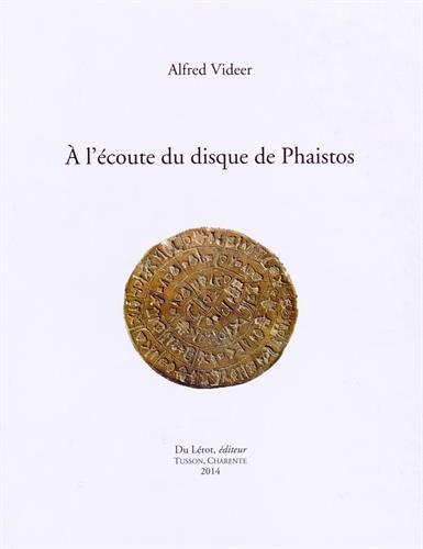9782355480911: A l'�coute du disque de Phaistos