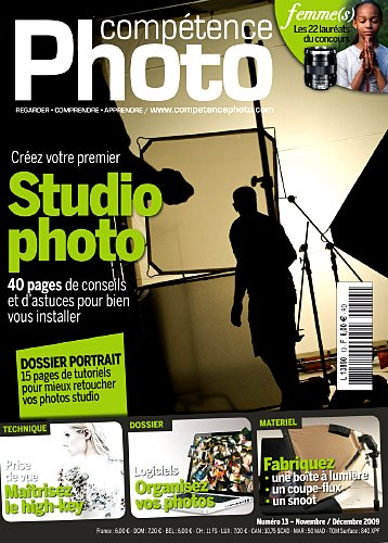 9782355640384: Compétence Photo n° 13 - Studio Photo