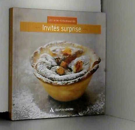 9782355901898: Les mini-gourmands Invités surprise.