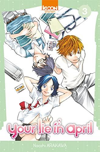 Your lie in april - Nº 3: Arakawa, Naoshi