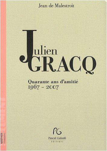 9782355930379: Julien Gracq (French Edition)