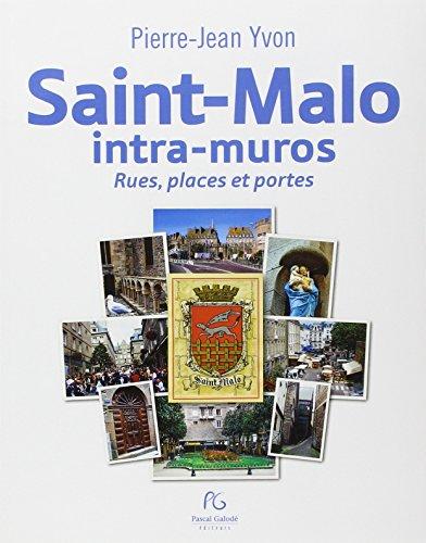 9782355931093: Saint Malo intra muros