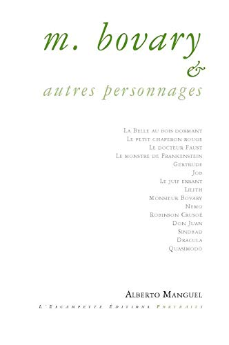 9782356080622: Monsieur Bovary & autres personnages