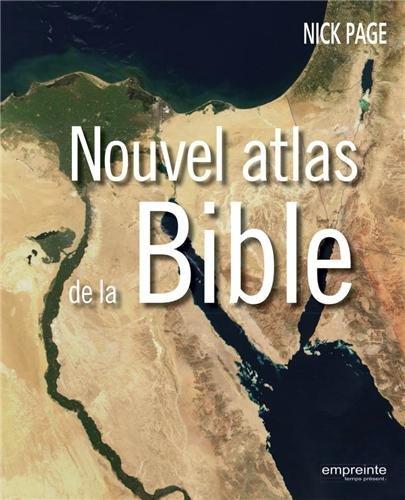 9782356140593: Nouvel atlas de la Bible (French Edition)