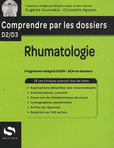 9782356400611: Rhumatologie (French Edition)