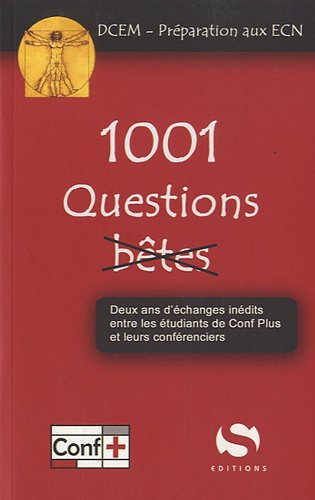 9782356400734: 1001 Questions b�tes