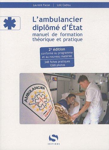 9782356400833: L'ambulancier diplome d'�tat