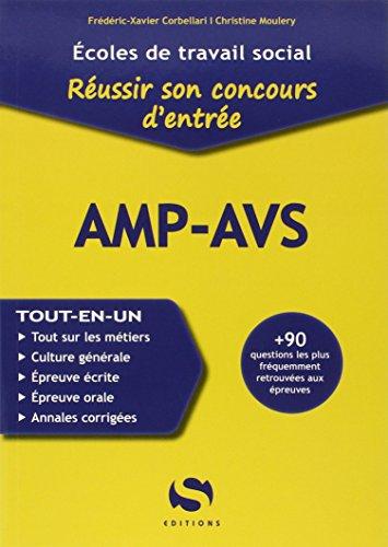 9782356400864: Réussir son concours d'entrée AMP-AVS