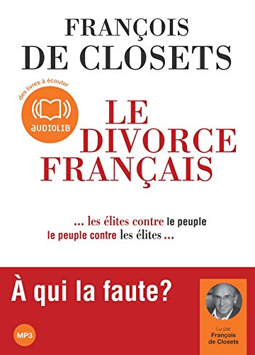 9782356410191: Le divorce français - Audio livre 1 CD MP3 500 Mo
