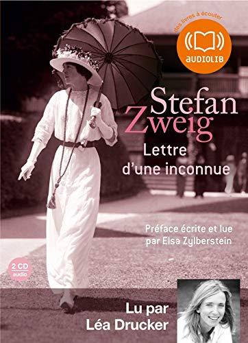 LETTRE D'UNE INCONNUE CD: ZWEIG STEFAN