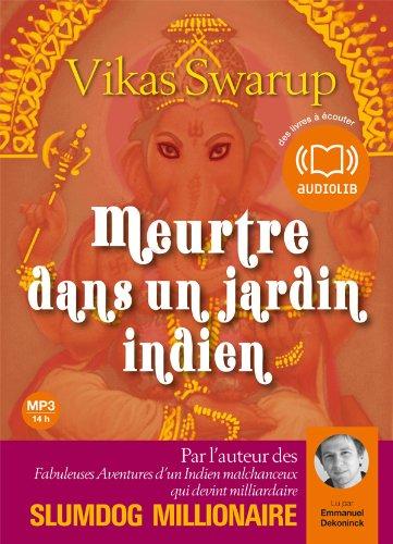 9782356412348: Meurtre dans un jardin indien (cc) - Audio livre 2 CD MP3 - 557 Mo + 606 Mo