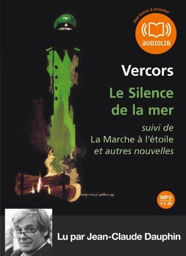 Le silence de la mer: Audio livre 1 CD MP3 - 502 Mo - Suivi d'un entretien avec François Bruller, fils de l'auteur (2356412808) by Vercors