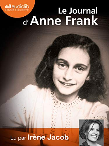 9782356414106: Le Journal d'Anne Frank - audiolivre ; audiobook ; 2CD MP3 in French (French Edition)
