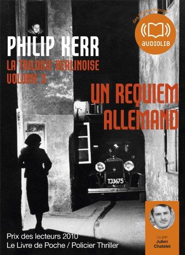9782356414212: Un requiem allemand - La trilogie berlinoise 3: Livre audio 1CD MP3