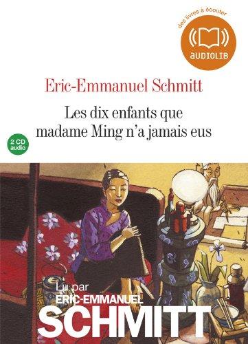 9782356414861: Les dix enfants que madame Ming n'a jamais eus: Livre audio 2CD audio