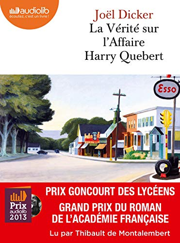 9782356415820: La Vérité sur l'affaire Harry Quebert: Livre audio 2 CD MP3 - 650 Mo + 530 Mo