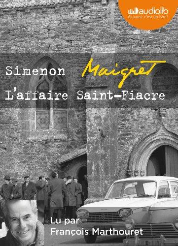 9782356415905: L'Affaire Saint-Fiacre