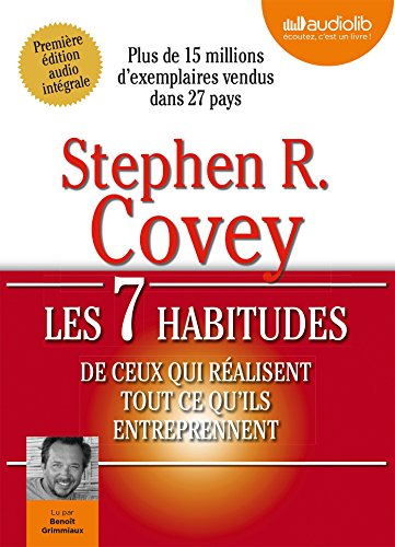 9782356417817: Les 7 habitudes de ceux qui réalisent tout ce qu'ils entreprennent: Livre audio 1 CD MP3 - 686 Mo