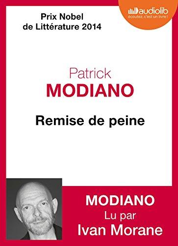 REMISE DE PEINE 1CD MP3: MODIANO PATRICK