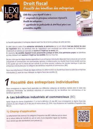9782356440679: Droit fiscal : Fiscalité des bénéfices des entreprises