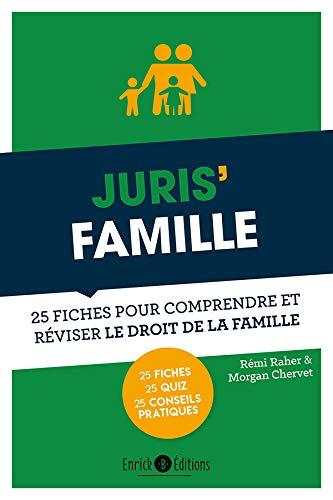 9782356443151: Juris' famille : 25 fiches pour comprendre et réviser le droit de la famille
