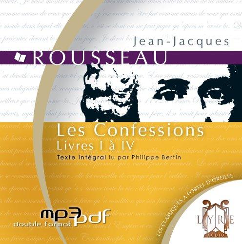 9782356450050: Les Confessions - Livres I à IV