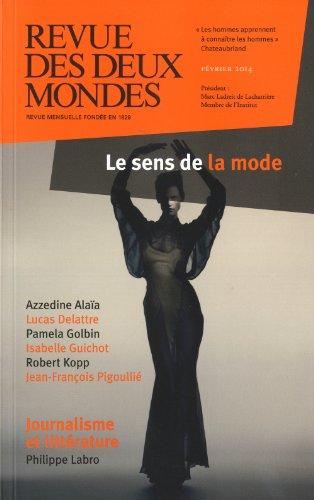 Revue des deux mondes, février 2014: Collectif