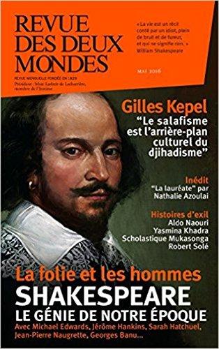Revue des deux mondes, mai 2016: Collectif