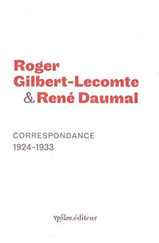 9782356540546: Correspondance 1924-1933