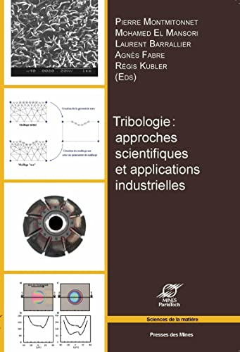 Tribologie: Barrallier Laurent