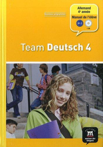 9782356850362: Team Deutsch 4 (French Edition)