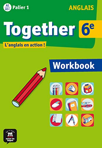 9782356850997: Anglais 6e Together : Workbook