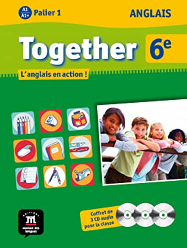 9782356851147: together 6eme - 3 cd audio classe