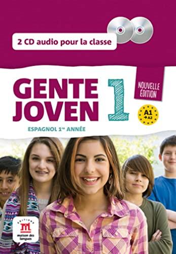 9782356851376: Gente Joven 1 Ned 2 CD Audio