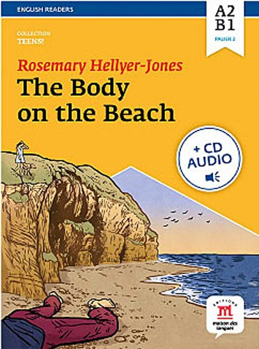 9782356851482: The body on the beach : Niveau A2-B1 (1CD audio MP3)