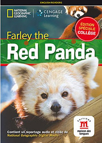 9782356851536: Farley the red panda : Niveau A1-A2 (1DVD) (National geographic)