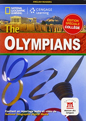 9782356851567: The Olympians : Niveau A2-B1 (1DVD) (National geographic)