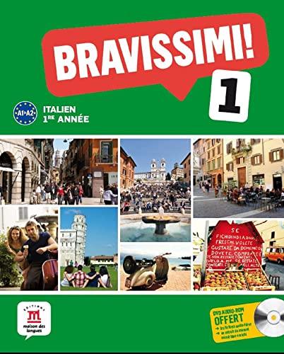 9782356851765: Italien 1e année Bravissimi ! 1 A1-A2 (1CD audio)
