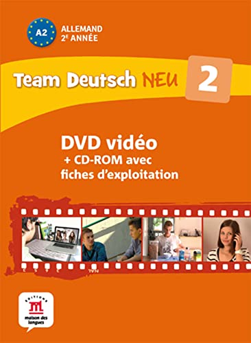 9782356852335: Team Deutsch neu 2 : coffret DVD + livret d'exploitation