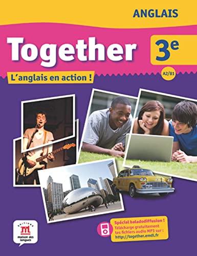 9782356852342: Together 3e : Livre de l'élève