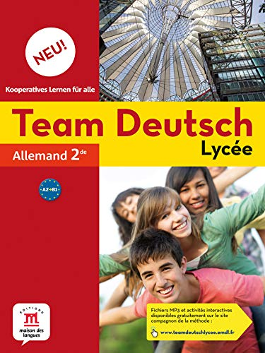 9782356853028: Allemand 2e Team Deutsch Lycée Neu! A2-B1