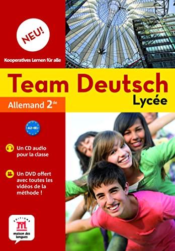 9782356853059: Team Deutsch Neu lycée 2nde (1DVD + 2 CD audio)